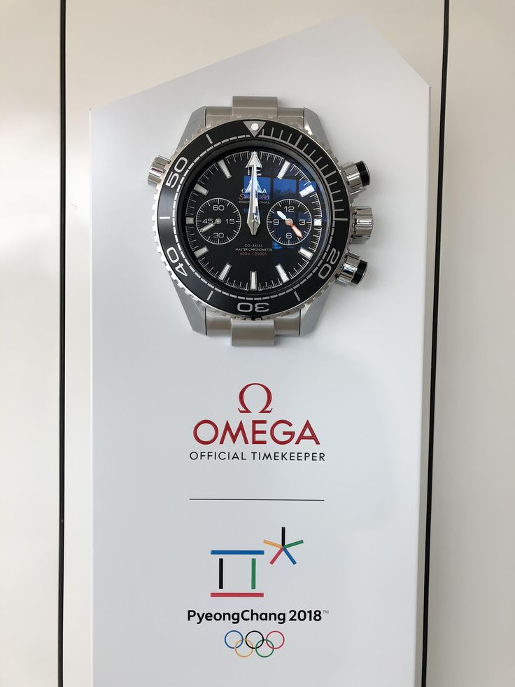 [Omega] Giant Omega spotted at the Pyeongchang Winter Olympic Games. http://ift.tt/2o3pVsu