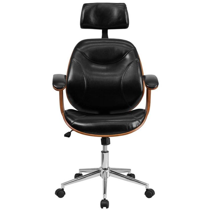 Domino Magazine Home Design Furniture Decor Decorating Office Chair Swivel Office Chair Leather Chair