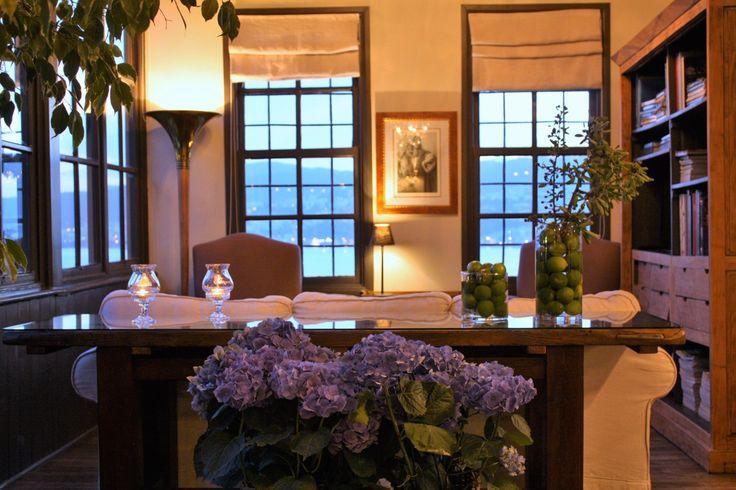 Imaret's tea room.