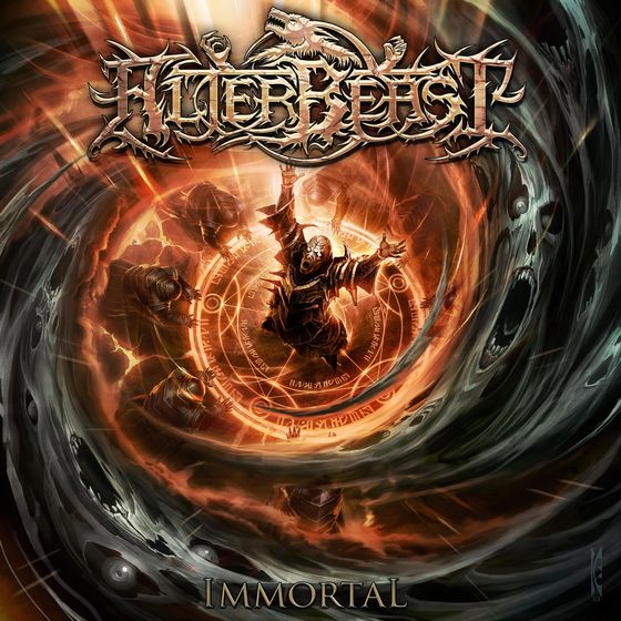 "Image of ALTERBEAST ""Immortal"" CD"