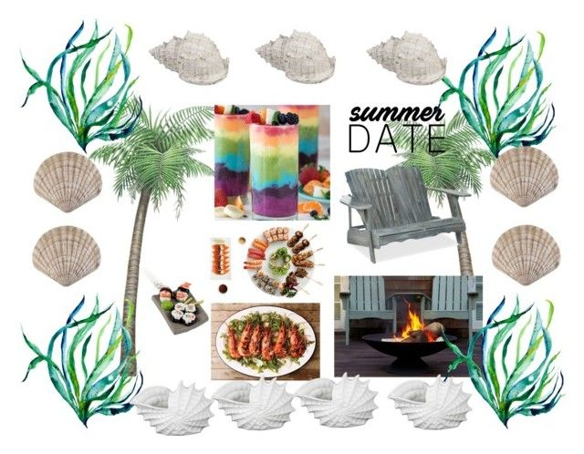 Ocean Date Dining by tanyaprinsloo09 on Polyvore featuring interior, interiors, interior design, home, home decor, interior decorating and Privilege