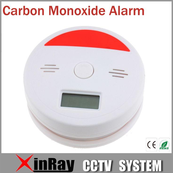 Smoke Alarm VKL601 Permanent Carbon Monoxide Sensor Smoke Detector with 3 digits LCD display