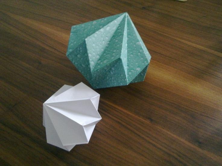 Origami Herbst Anleitung : Hängedeko_Anleitung basteln Pinterest