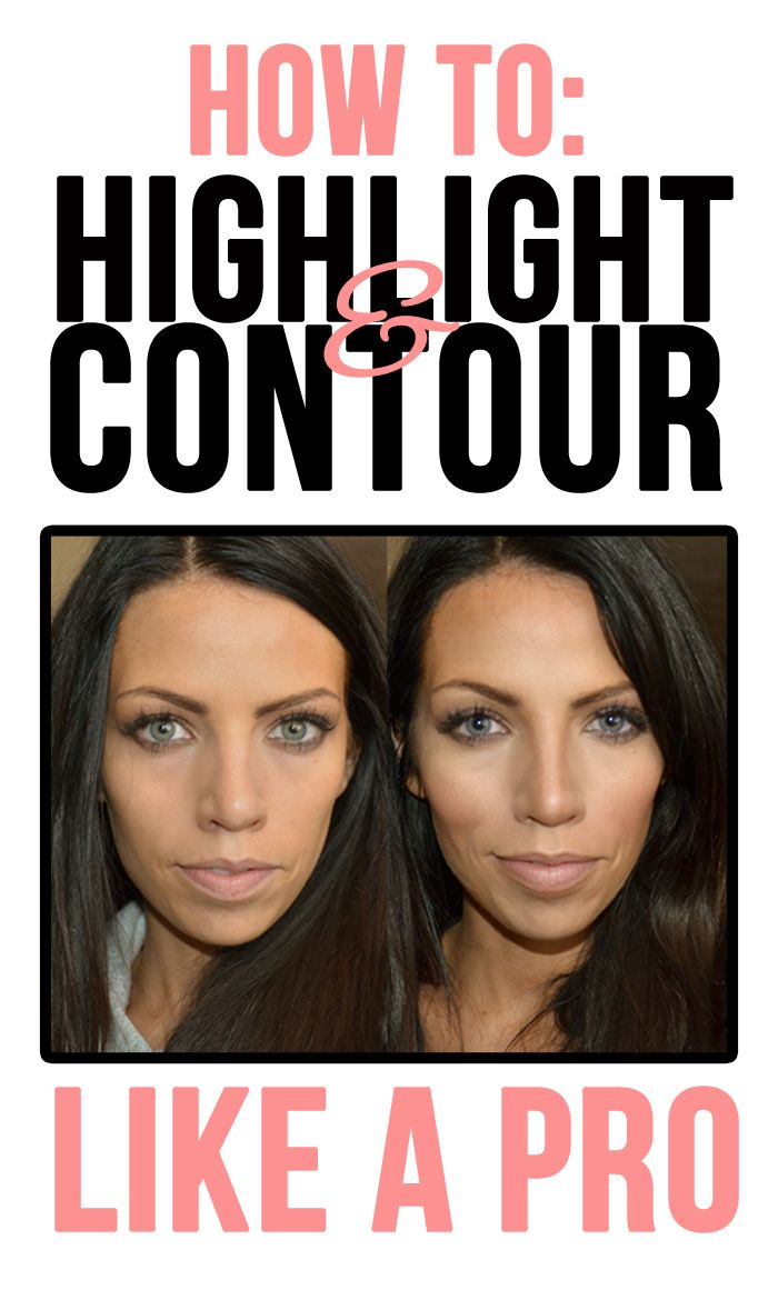 How to Contour like a Pro!: Make your nose look smaller, your cheek bones look higher, your face look thinner, your lips look bigger, and more! The technique used in this video is the same used by the stars and models alike. All you need is a bronzer, blush, and highlighter. No need to go under the knife for this face lift!