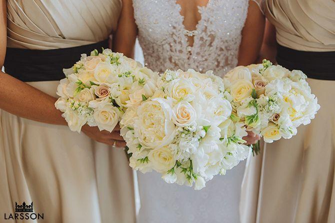 3 wedding bouquets