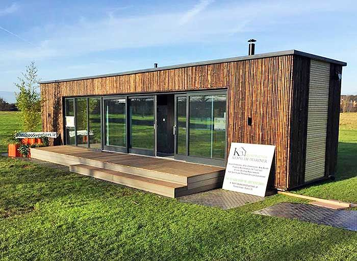 25 best ideas about prefab cabins on pinterest modular for Maison 6 container
