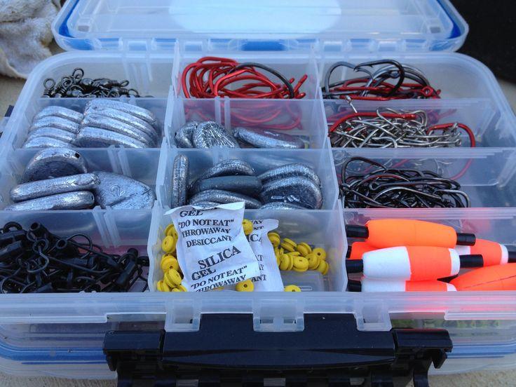 Catfish tackle is pretty simple! #catfish #catfishing #catfishedge #bluecatfish #fishing #fishinglife #fishingislife #tackle #tacklebox #fishingtackle
