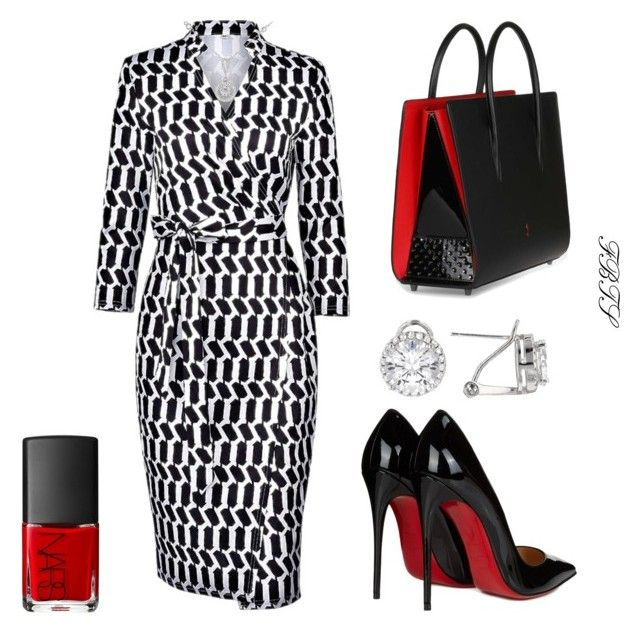Executive Decisions by flybeyondtheskies on Polyvore featuring Christian Louboutin and NARS Cosmetics
