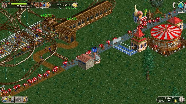 "News: Spiele-App ""RollerCoaster Tycoon Classic"": Bei Regen laufen die Geschäfte gut - http://ift.tt/2i40JkR #story"