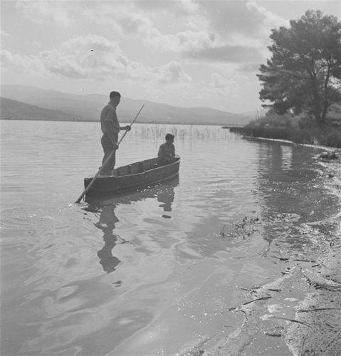 Η λίμνη Καϊάφα. Νομός Ηλείας, 1939-1940 Βούλα Θεοχάρη Παπαϊωάννου