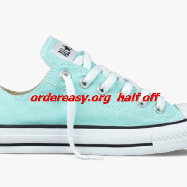 Tiffany blue converse. One of my fav purchases in Vegas!    site full of 52% off #Womens #converse Shoes