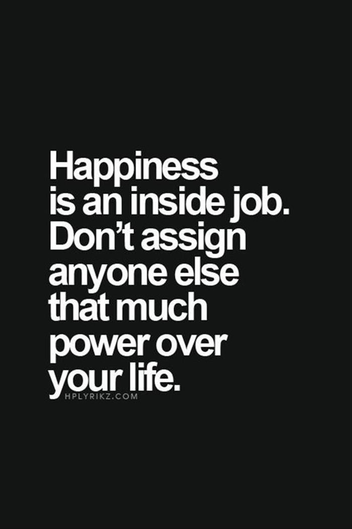 This is one I have to remind myself of. - #happiness #happinessquotes