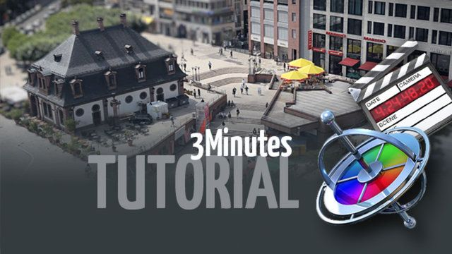 Realistic Tilt Shift Effects with Final Cut Studio - Tutorial by Dennis Steib. Shot on Canon EOS 5D MkII @ 30 fps
