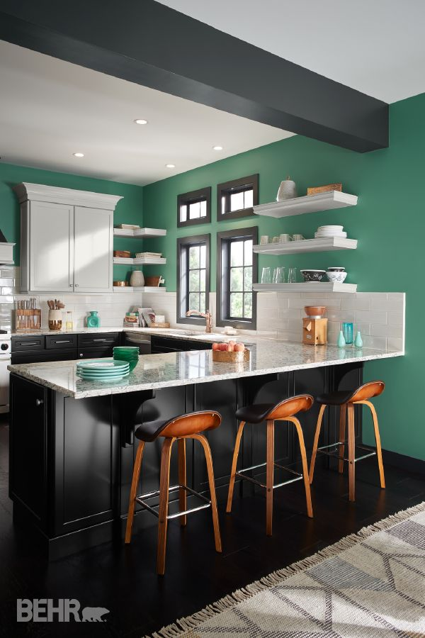 81 best images about behr 2017 color trends on pinterest for Kitchen interior colour