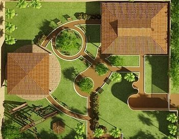 14 best landscape rendering samples images on pinterest for Site plan rendering software