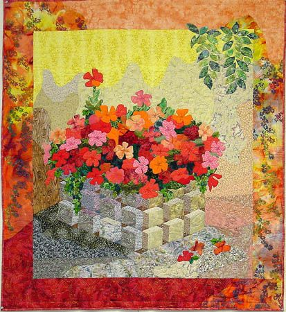 """""""Impatiens is not for Quilters"""""""