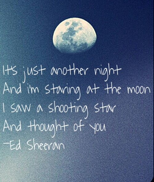 'ALL OF THE STARS' - Ed Sheeran | Words | Pinterest
