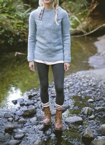This looks so comfy and stylish! Antrorse Jumper by Emma Cuckow