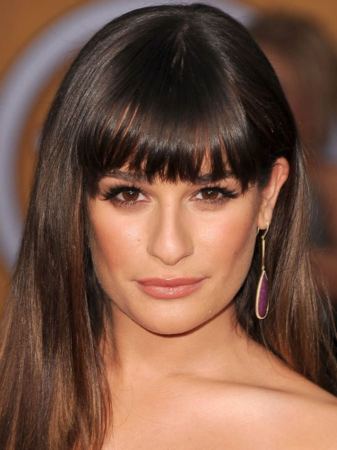 The Best And Worst Bangs For Square Face Shapes Square Face Hairstyles Square Face Shape Haircut For Square Face