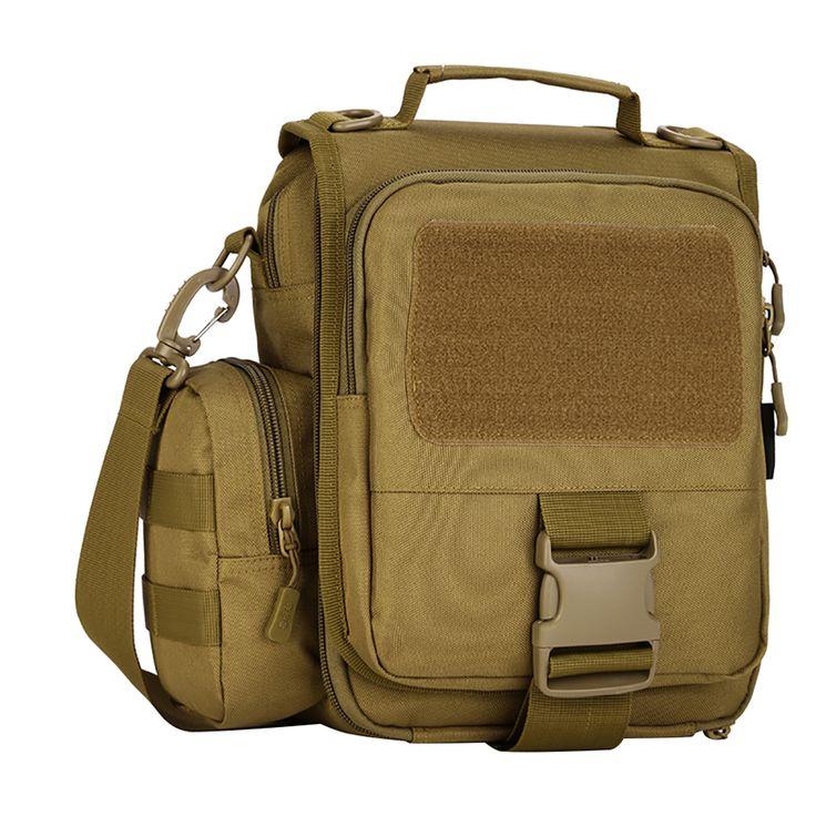 Leisure Men Satchel Bag iPad45 Messenger Bag Travel Camping Tactical Handbag Outdoor Riding Shoulder Bag Q1