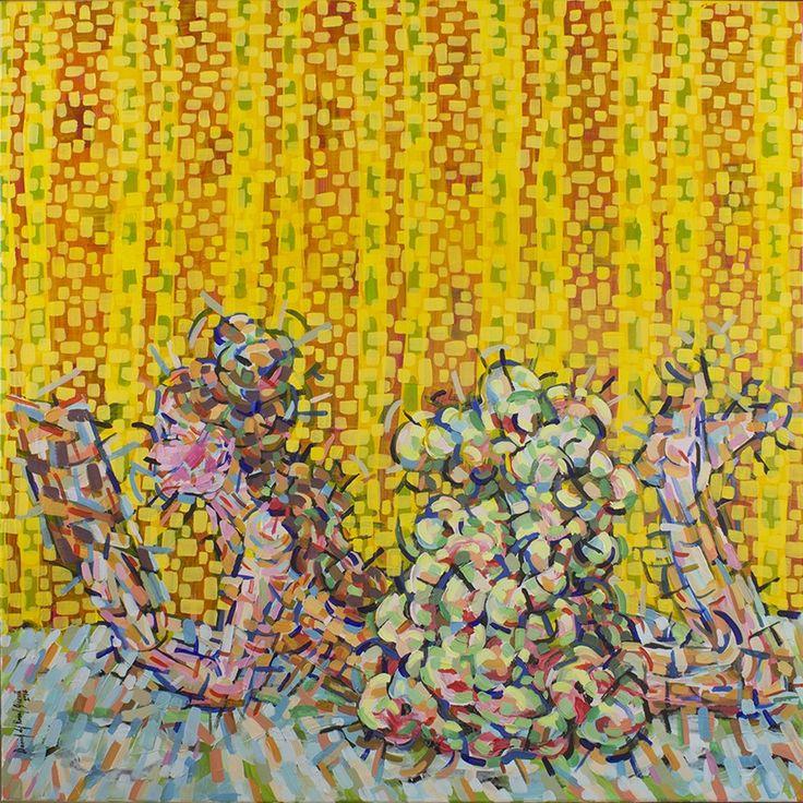 Kiedy Pana Degas nie ma - Daniel del Rosal Garcia - Rytm - wystawa malarstwa, Nowy Świat Muzyki ul. Nowy Świat 63, Warszawa 21 września – 12 października 2017 r. http://artimperium.pl/wiadomosci/pokaz/793,daniel-del-rosal-garcia-rytm-wystawa-malarstwa#.WcTS_o-0PIU
