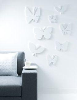 Houten vlinders - 101 Woonideeën
