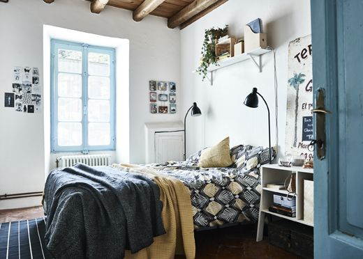 389 best IKEA Schlafzimmer u2013 Träume images on Pinterest Ikea - minimalismus schlafzimmer in weis