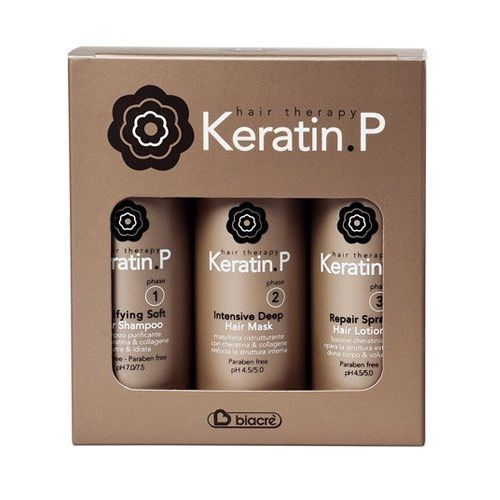 Biacrè Keratin P Kit Viaggio Shampoo+Hair Mask+Lotion 3x100ml