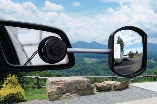 Rv247 Caravan Rv Marine Camec Towing Mirror Suction