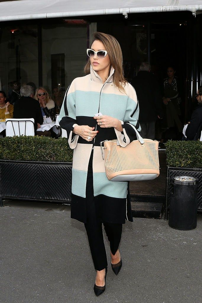 "STYLE BY CLICK: Стиль знаменитостей. Джессика Альба - образы в стиле ""кэжуал"" / Jessica Alba's Casual Looks"