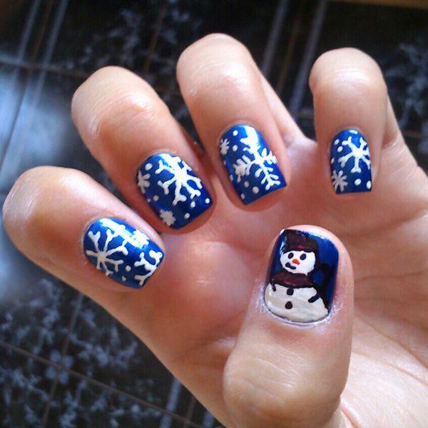 65 Cute Christmas Nails | Cuded