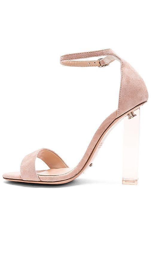 68052fa3325 Tony Bianco Kashmir Heel im Blush Kid Suede