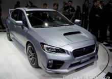 The 2015 Subaru WRX STI launches at the 2014 Detroit auto show with 305 horsepower and more differentials than you can shake a stick at.