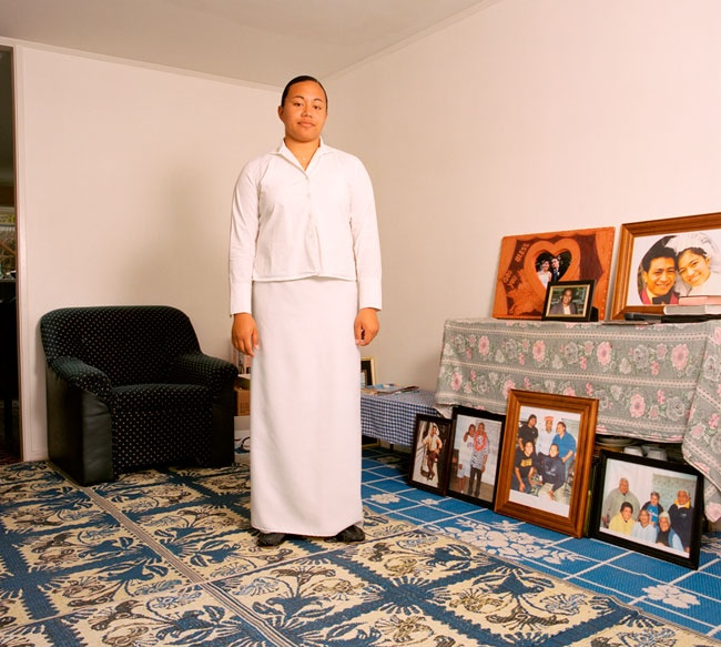 Edith Amituanai, Miss Amituanai, 2005, from the series, Mrs Amituanai, C-type photograph