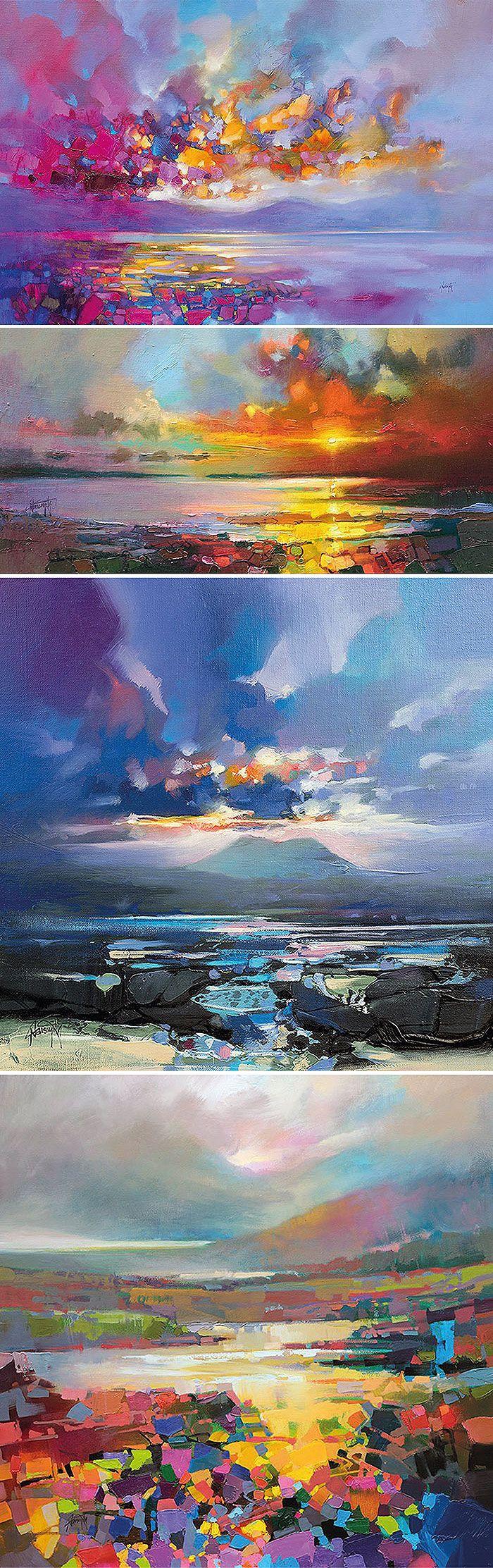 Для художника Скотта Нейсмита (Scott Naismith) из Глазго его родная Шотландия стала истинной музой. Природа этой северной страны отличается немного сумрачной красотой: живописные строгие равнины, нагорья, поросшие вереском, реликтовые леса и чистейшие озера… Шотландия — странная, загадочная, очаровательная и самобытная местность.