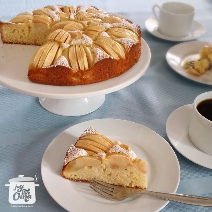 German cake recipes: Apple Cake