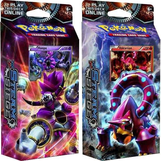 XY Steam Siege Pokemon Theme Deck Set - Cards Outlet has FREE SHIPPING on Single Card Orders Over $14.99 - XY Steam Siege Pokemon Theme Deck Set