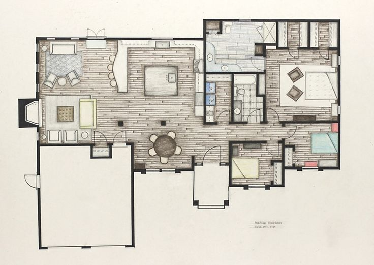 39 best Floor plan and interior elevation rendering styles images ...