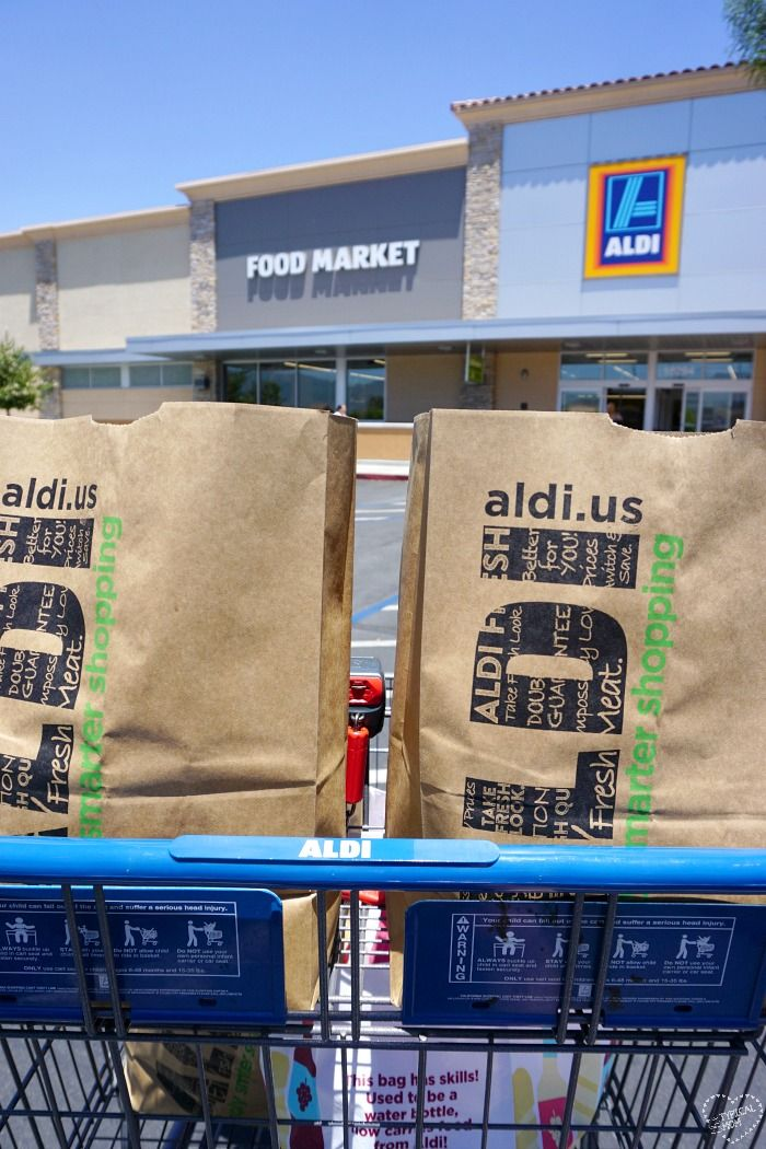 See how ALDI food market is different than traditional grocery stores, how low their prices are, and find a location near you so you can shop there too. via @thetypicalmom