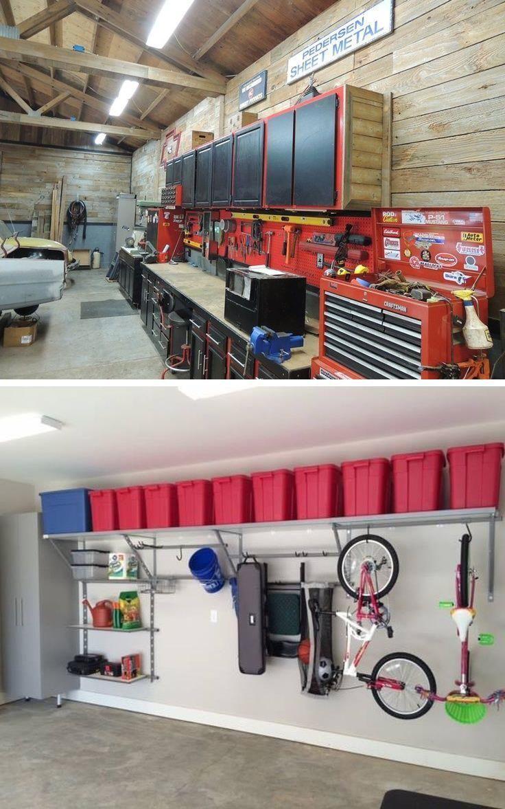 Garage Storage Garage Organization Design Ideas Retro Garage