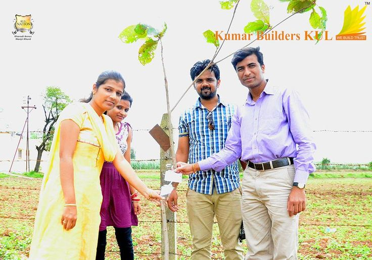 KUL Citizens planting a tree during Tree Plantation Ceremony.