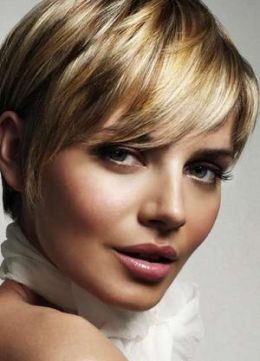 short haircuts styles-can I do this or is it too short?!?  Love the color too : )
