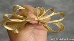 How to Make a Corsage (ribbon instructions)