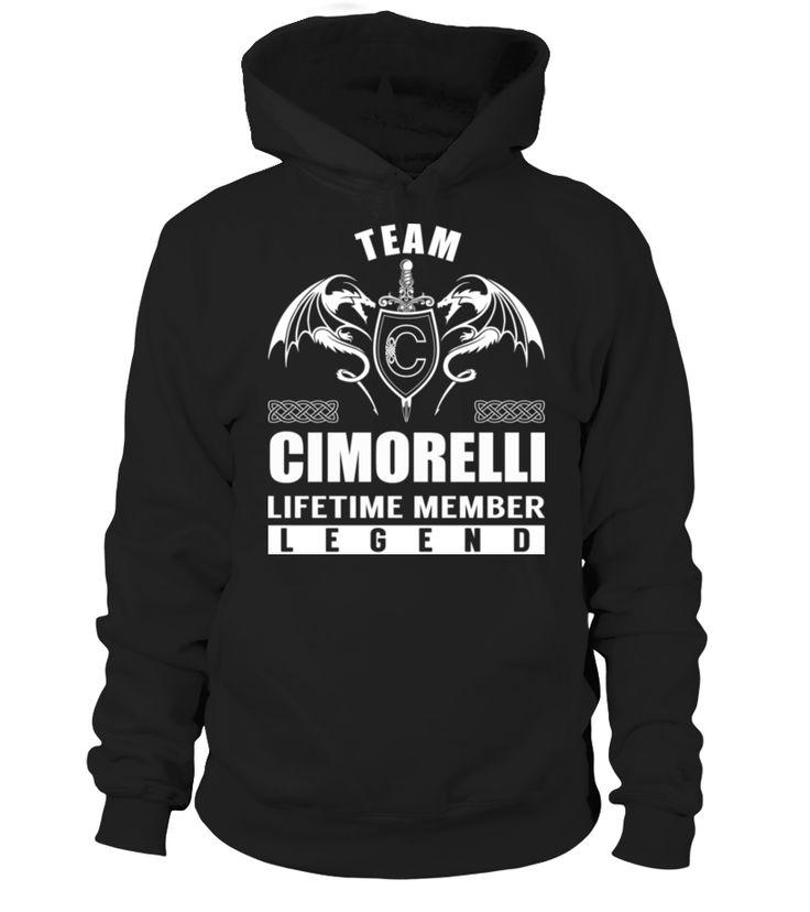 Team CIMORELLI - Lifetime Member #Cimorelli