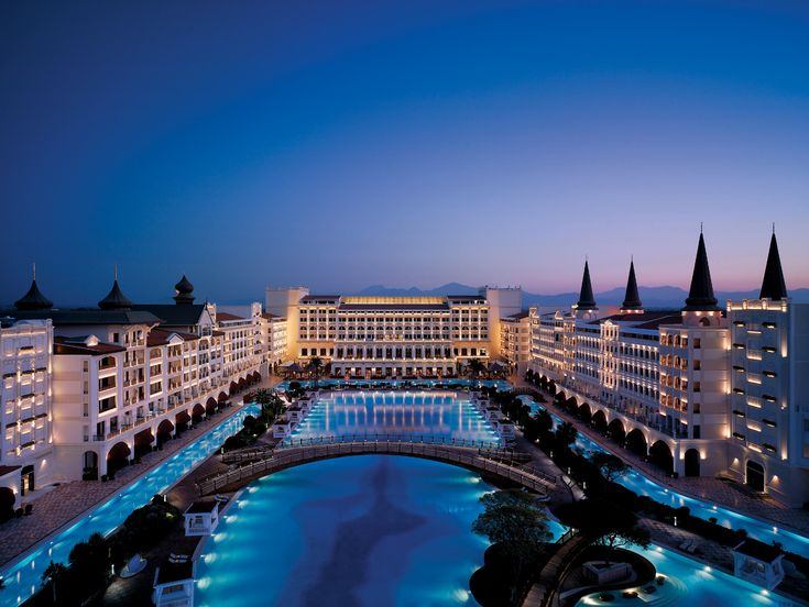Top 10 Most Luxurious Resorts in the World #2 Mardan Palace Hotel, Turkey