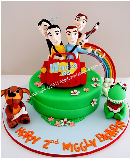 Image Result For Wiggles Birthday Cake Sydney
