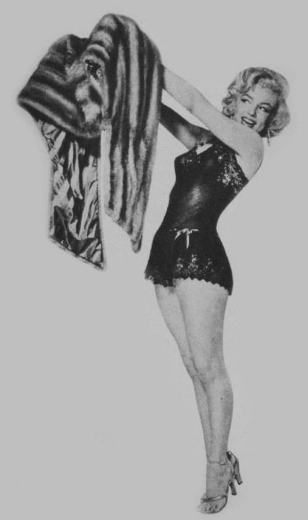 Marilyn Monroe. Photo by John Florea, 1953.