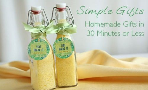 37 Homemade Gifts in a Jar