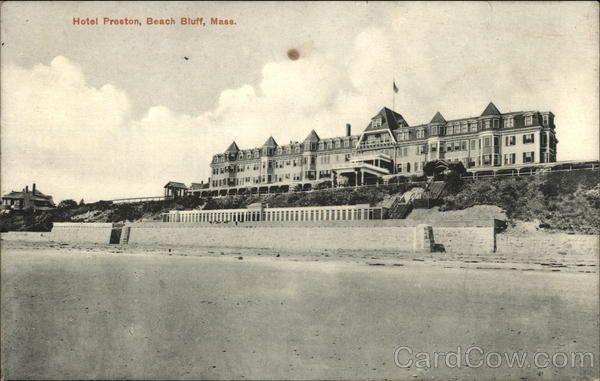 Hotel Preston,Beach Bluff Swampscott Massachusetts