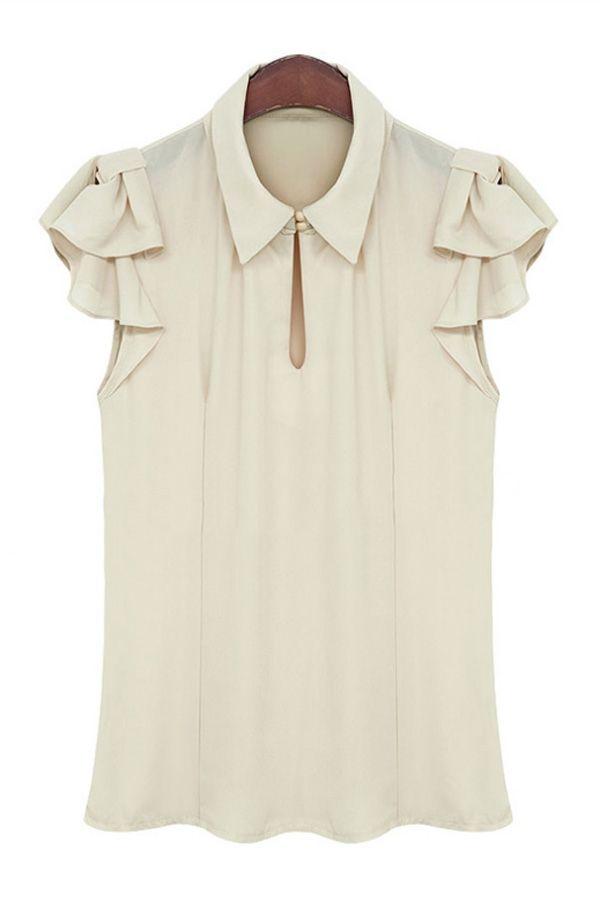 blusa recorte cuello - Buscar con Google